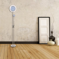 Tomshine floor lamp lambader 15W LED Floor Lamp with 3W LED Side Light AC100V to 240V Iron 1200LM and 240LM Stepless