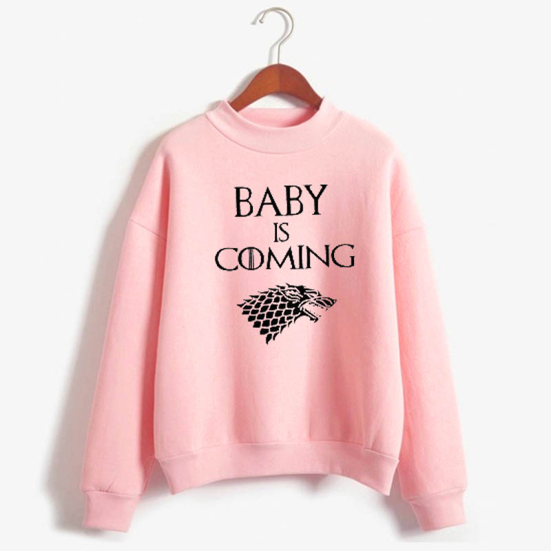 Game Of Thrones Inspired Pregnancy Sweatshirt   Baby Is Coming, Mom To Be Sweatshirt  Pregnancy Announcement Sweatshirt  Baby Sh