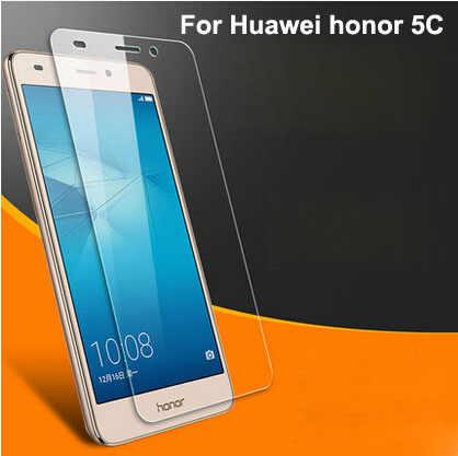 Huawei社の名誉5c超薄型プレミアム強化ガラススクリーンプロテクター、スクリーンフィルムガード用名誉5cガラスカバー用Honor5C