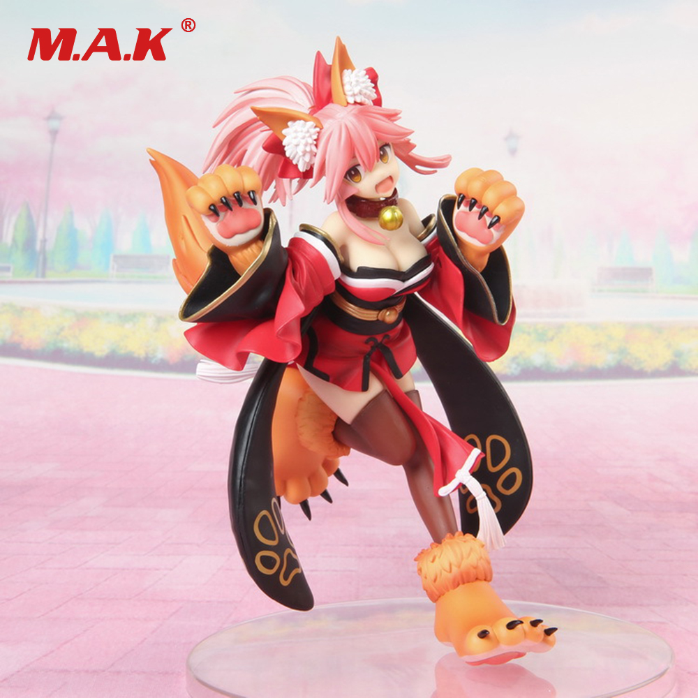 Collectible Anime Figure Toys Fate/Grand Order Tamamo No Mae Nekomusume Model Dolls Decoration PVC Collection Figurine Toys Gift