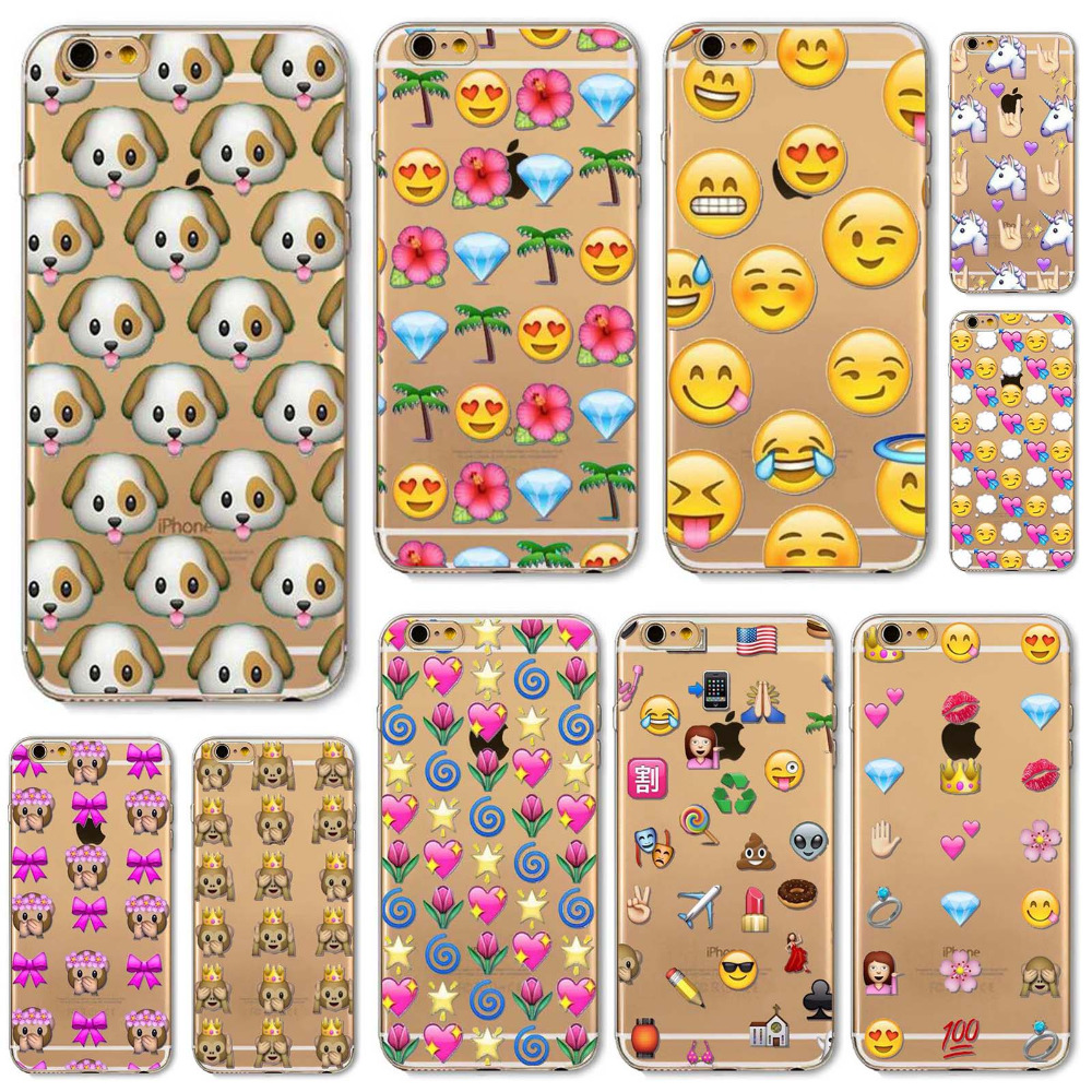 Cover iphone 5 squishy - Fashion Lovely Funny Emoji Cases For Iphone 6 6s 7 7plus 5 5s Se 5c 6plus