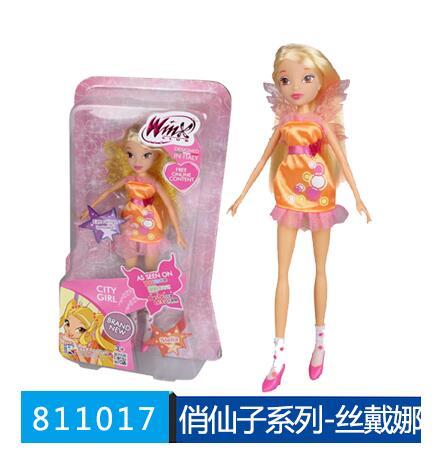 9 ピース/ロット最新 Winx クラブの人形カラフルな少女アクションフィギュア妖精ブルーム人形  グループ上の おもちゃ & ホビー からの 人形 の中 1