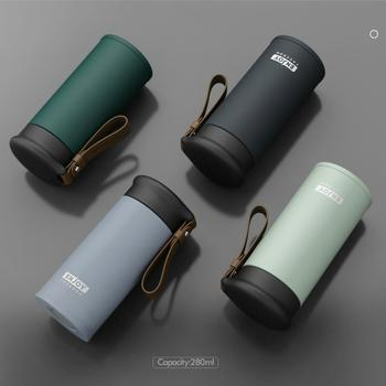 OWNPOWER Quality Double Wall Stainless Steel Vacuum Flasks 280ml Car Thermo Cup Coffee Tea Travel Mug Thermol Bottle Thermocup double 280ml