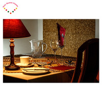 5d Handmade Needlework Diy Diamond Painting Kit Diamond Embroidery Red Wine Coffee Western Food Rhinestone Cross