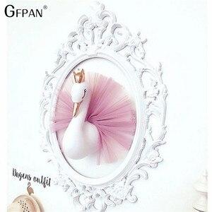 40cm Love Ins Crown plush Swan
