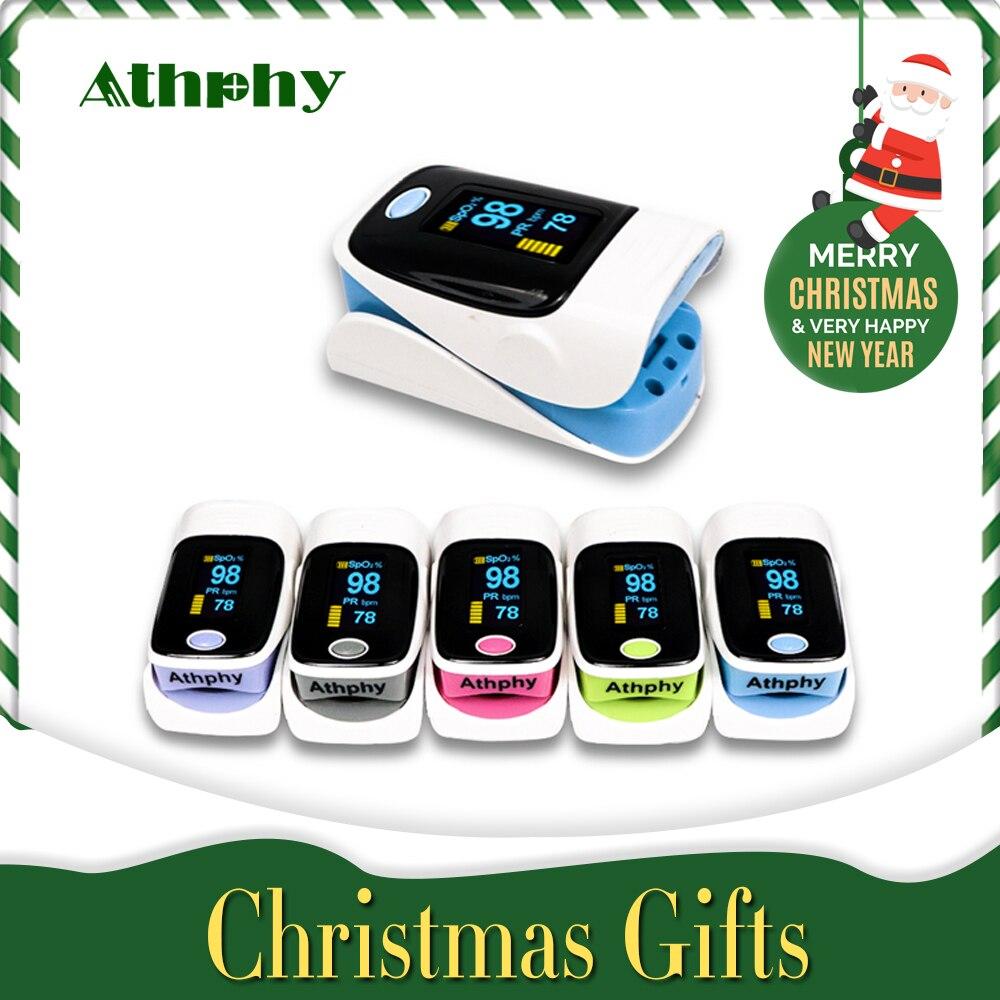 Athphy Finger-pulsoximeter Oled-display Digital Blut Sauerstoff Sättigung Meter SPO2 PR Pulsioximetro Oximetro De Dedo Großhandel