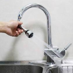 360 градусов Поворот кран распылитель на кран Кухня опрыскиватель головы экономии воды краны приложения для кухня кран