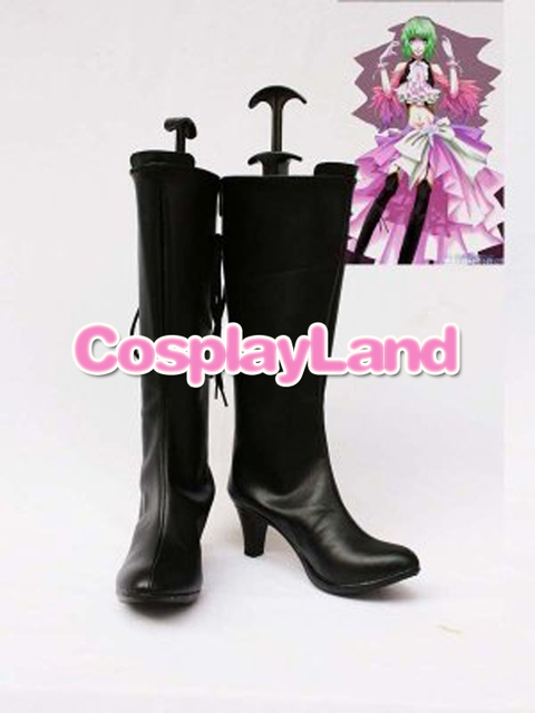 Customize Boots Vocaloid Sandplay Singing Of The Dragon Gumi Cosplay Shoes  Cosplay Costume Halloween Party Cosplay