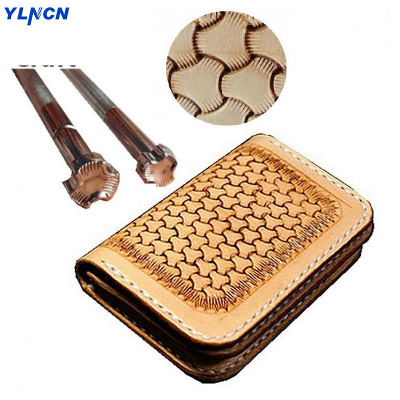 Japanese Craft Import Leather Carving Printing Tool Armor Pattern Iron Crepe Leather Craft Engraving Stamp