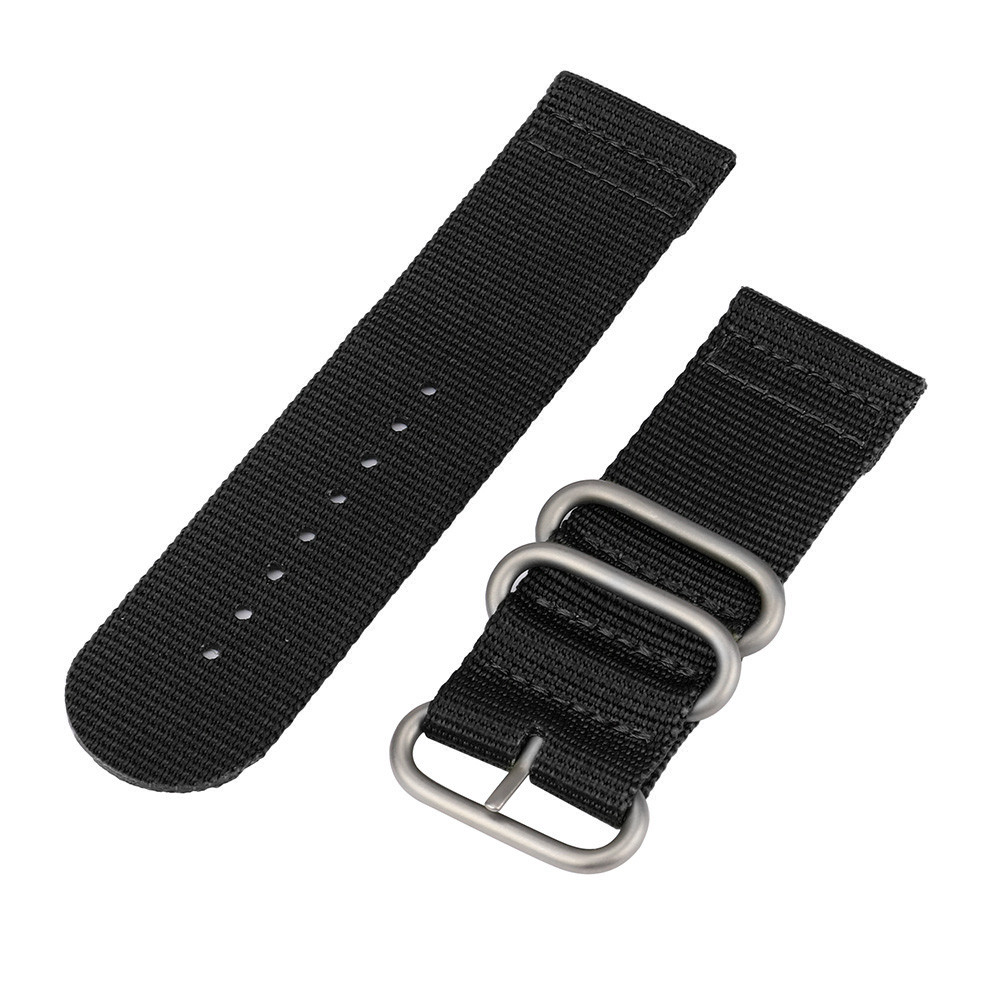 Nylon Watchband Strap 26mm Watch Band Strap Stainless Steel Buckle Canvas Army Replacement Luxury Nylon Band Strap For Watches#T цена и фото