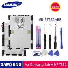SAMSUNG Tablet Battery EB-BT550ABE For samsung Galaxy Tab A 9.7 SM-T550 SM-P550 SM-T555C SM-T555 SM-P351 Battery 6000mAh цена