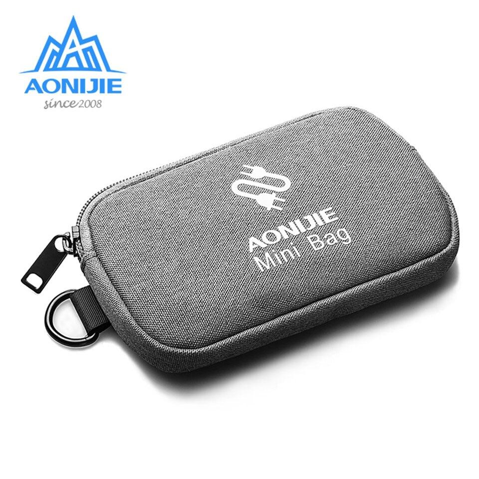 AONIJIE Водонепроницаемая дорожная сумка для хранения данных кабель для передачи данных мобильный жесткий диск зарядное устройство u диск гарнитура коробка для хранения|Сумки для альпинизма|   | АлиЭкспресс