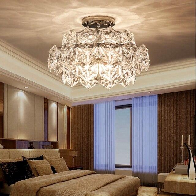Postmodern Crystal Ceiling Light
