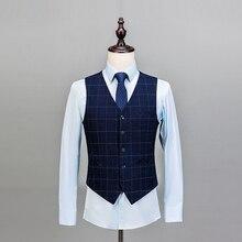 JinXuanYa Coat Pant Designs Lapel Men Suit Tailor Made Groom Tuxedos Wedding Suits Best Man Blazer (Jacket+Pants+Vest)custom