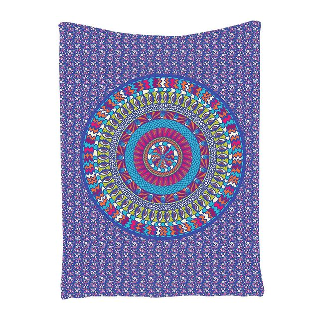 Hippie Tapestry Indian Purple Mandala Design Psychedelic Tapestry Fabric Art Wall Hanging for Living Room Bedroom  sc 1 st  AliExpress.com & Hippie Tapestry Indian Purple Mandala Design Psychedelic Tapestry ...