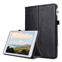 For IPad Pro 12 9 2017 2015 Smart Tablet Case Cover High Quality Genuine Leather PU