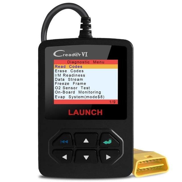 Vehicle Code Reader >> Launch Creader Vi Vehicle Code Reader 2018 Car Obd2 Obd Ii Scanner