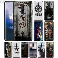 The 100 Heda Lexa TV Show Phone Case for Oneplus 7 7Pro 6 6T Oneplus 7 Pro 6T Black Silicone Soft Case Cover