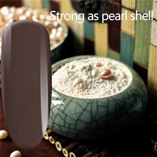 TREEINSIDE natural puro Saludable marca-genseng extrae necesita uv led lámpara de uñas de gel de uñas para curar seguro verde saludable color de la marca