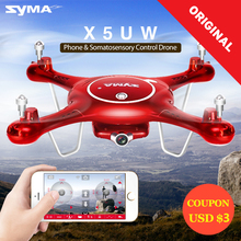 2017 Syma X5UW Drone with WiFi Camera HD 720P Real-time Transmission FPV Quadcopter 2.4G 4CH RC Helicopter Dron Quadrocopter #