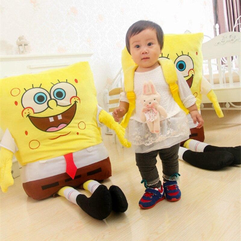 1 stück 40 cm/50 cm Sponge Bob Baby Spielzeug Spongebob Und Patrick Plüsch spielzeug Soft Anime Cosplay Puppe Für Kinder Spielzeug Cartoon-figur kissen