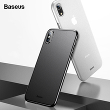 Baseus Phone Case For iPhone X Xr Xs Max Coque Super Thin Ultra Slim PP Matte Cover iPhoneXs S Xsmax Fundas Capinhas