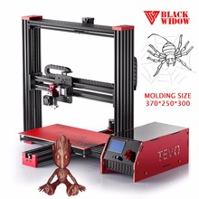 2017 Tevo Black Widow 3D Printer Large Printing Area 3d printer Kit OpenBuild Aluminium Extrusion Imprimante 3D Printer
