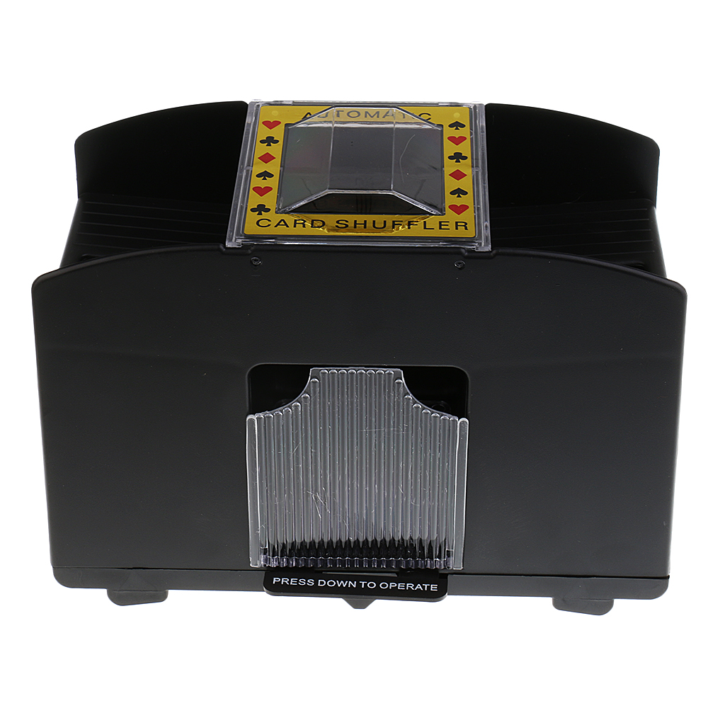New Porable Automatic Poker Card Shuffler Casino Game Playing Shuffling Machine 1-4 Deck Camping Board Game Collectibles Gift