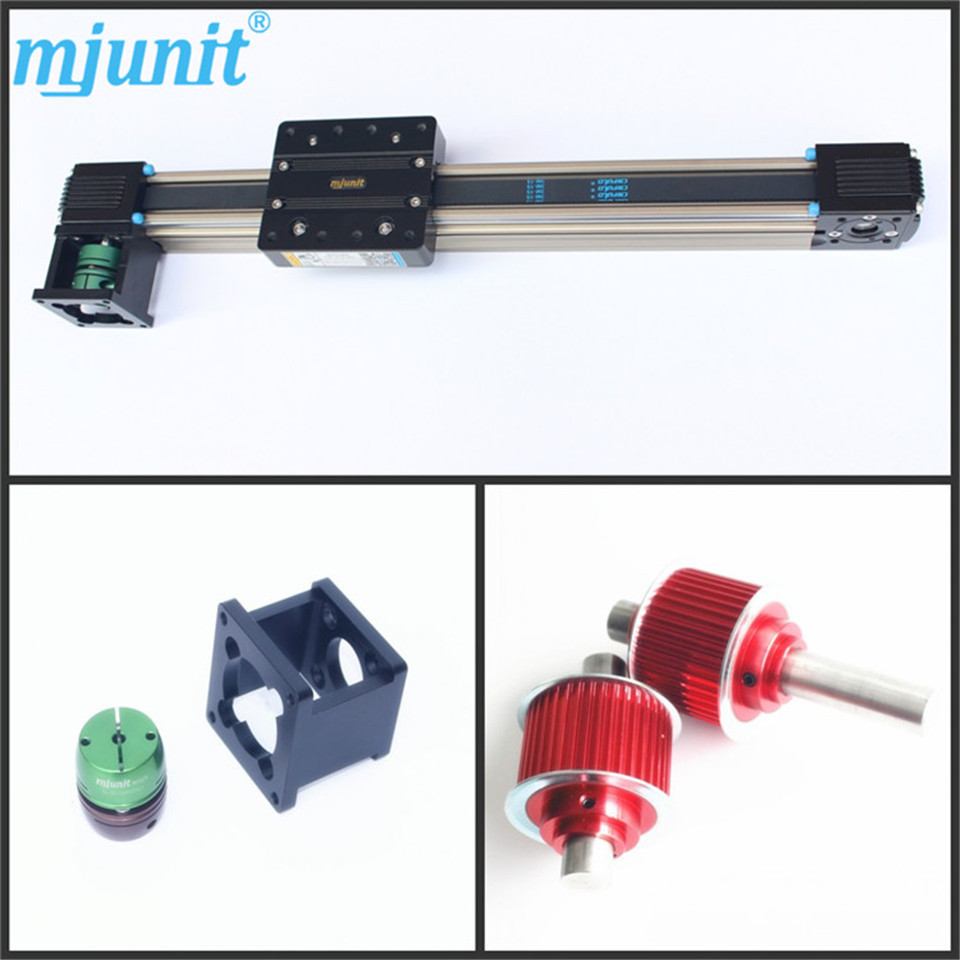 Slider Intelligent Actuator Linear Rail Slide Belt Driven 1220 800 one head belt driven linear actuator custom travel length linear motion motorized linear stage belt driven stage
