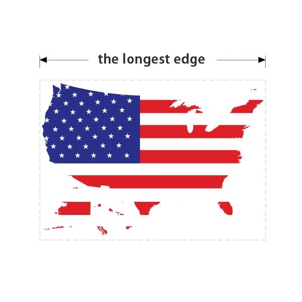 Америка тұсқағазы қабырғалық винил - Үйдің декоры - фото 3