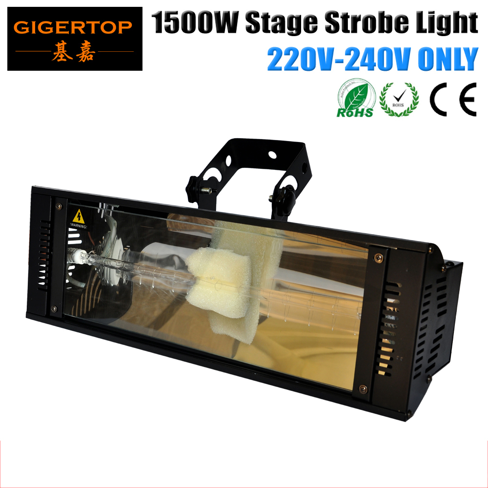 TIPTOP 10 Pack 1500W Strobe Light White Color 0-100% Dimmer Flash Speed Adjustable Manual Switch/ DMX512/Auto Control 3PIN XLR