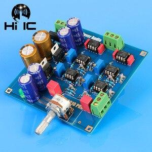 Image 3 - Ссылка MBL6010D Pre усилитель предусилитель Board NE5534 Diy Kits/готовый продукт