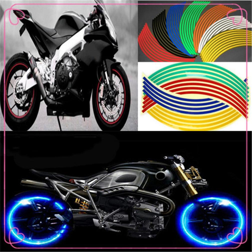 Profils Adhésifs Sport Roues Roue Compatible Yamaha CBR 600 F 600F Blanc Or
