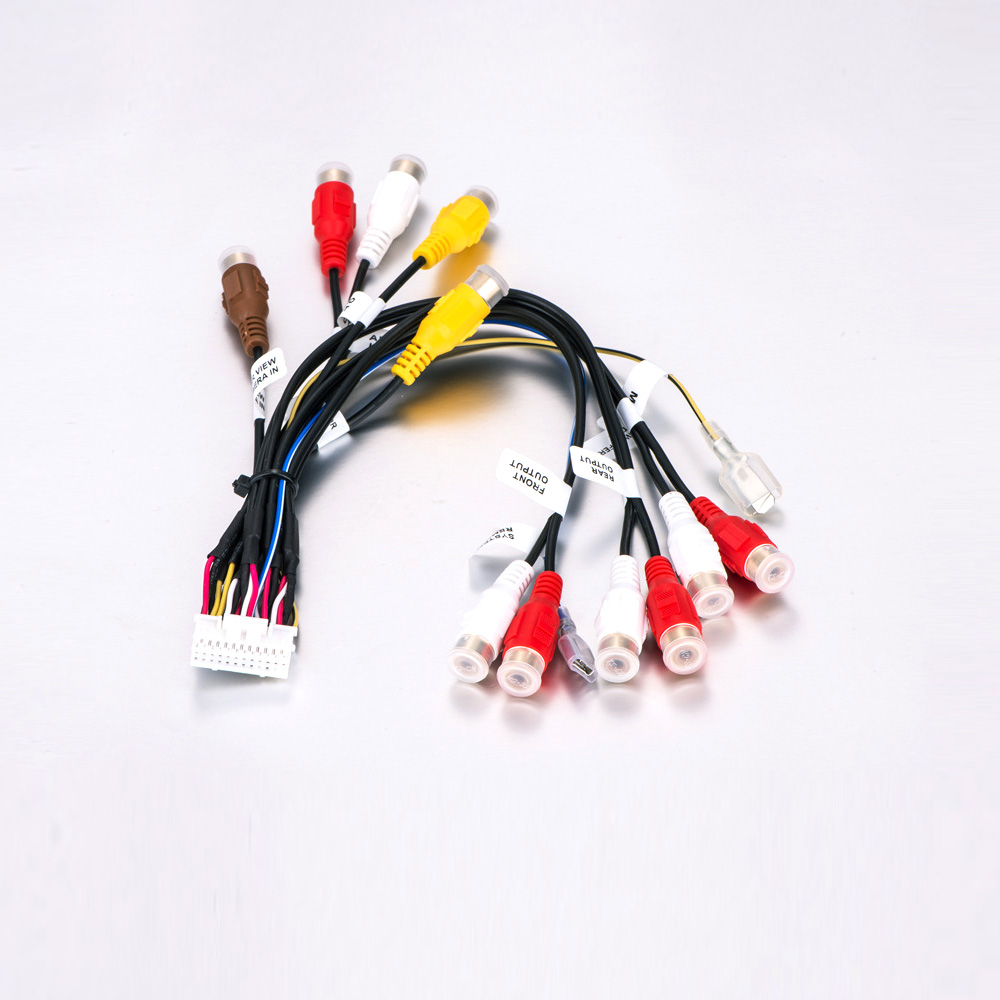 24 Pin Plug Car Stereo Radio Rca Output Wire Harness Wiring Function If You Are Installing An Aftermarket In Your Need This All And Wires Labeled With Own Specific
