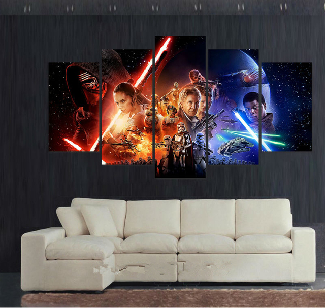 Star Wars Episode The Force Awakens Canvas