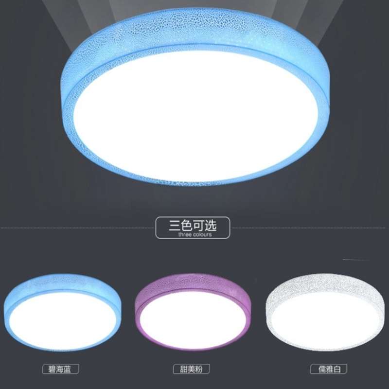 Round White Light LED Ceiling Light LED Down Light Modern Flush Mount Home Fixture Night Lamp For Living Room