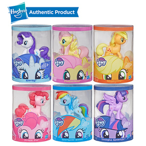 Image 5 - Hasbro My Little Pony Toy Rainbow Tail Surprise Collection Pack Of 6 3 Inch Fan Pony Figures Doll Twilight Pinkie Pie Rarity
