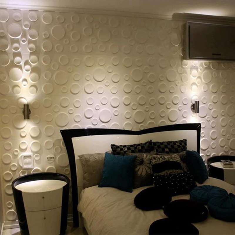 30x30cm pe foam 3d wall stickers anti collision wallpaper for Room decor 3d foam stickers
