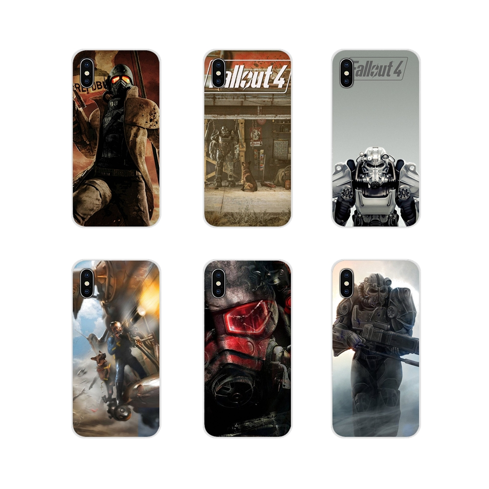 Fallout 4 Video Games For Sony Xperia Z Z1 Z2 Z3 Z5 compact M2 M4 M5 C4 E3 T3 XA Huawei Mate 7 8 Y3II Accessories Phone Bag Case