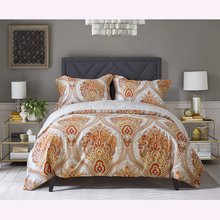 Фотография GGGGGO HOME 3/4 pcs duvet cover set Phoenix flower printed bedding set  king/queen/full/twin/double/single/family size