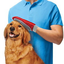 Silicone Pet Brush Glove Pet Grooming Comb Dogs Cat Bath Pet Cleaning Supplies Effective Massage Gloves For Right Left Hand pet massage gloves left hand right hand pet bath brush massage grooming for pet washing