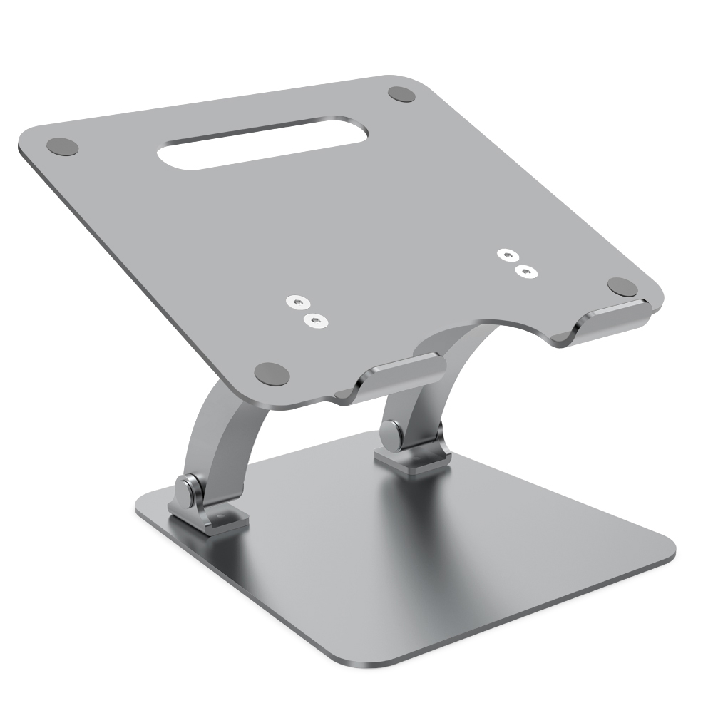 Aluminum Adjustable Laptop Stand Foldable Free Lift Bracket Angle Adjust Notebook Tablets Holder for MacBook Pro