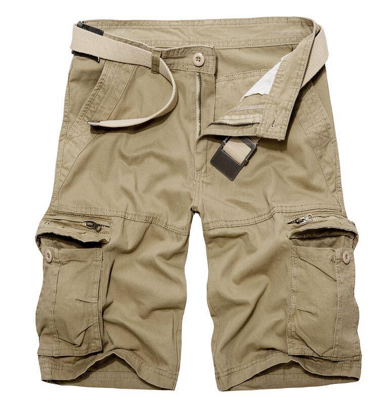 2015 new arrival Summer men's plus size Knee Length Zipper ...