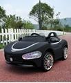 Envío Libre Caliente selliing Maserati Niños Viajan En Coche Eléctrico con Mando a distancia y Azul Linterna Wtih Función Swing
