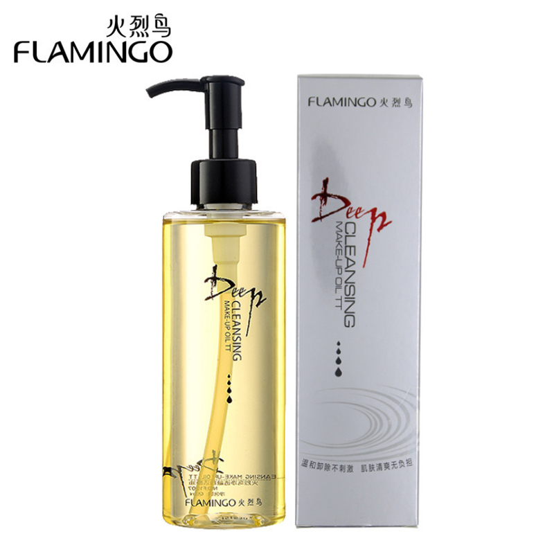FLAMINGO 120ml Makeup Remover Cleaner Deep Cleaning Oil Facial Cleanser Face Natural Skin Care Skin F1007