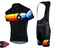 Pro Team Twin Six Race Cycling Jersey 6 Ropa Ciclismo Quick Dry Sports Jersey Cycling Clothing bicycle Bib Shorts 9D Gel pad