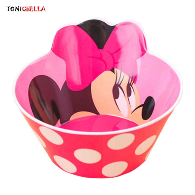 Infant Cartoon Pattern Dishes Baby Feeding Tableware Children Food Container Kids Training Dinnerware Delicate Gift Plate T0597