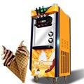 Коммерческая автоматическая машина для мороженого 2100 Вт Трехцветная вертикальная машина для мороженого интеллектуальная машина для подсл...