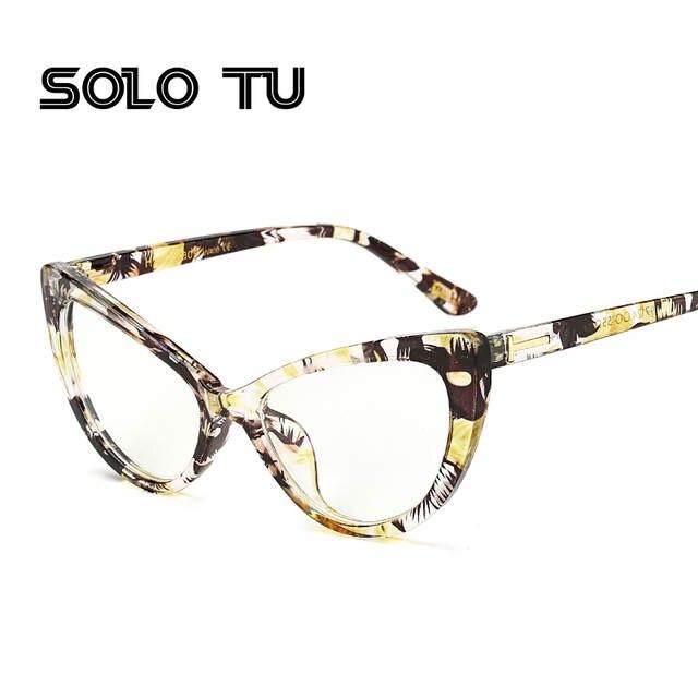 deb3868163 Online Shop 2017 New Cat Eye Glasses Frame For Women Sexy Retro Fashion Men  Nerd Glasses Clear Lens Glasses Frame Oculos