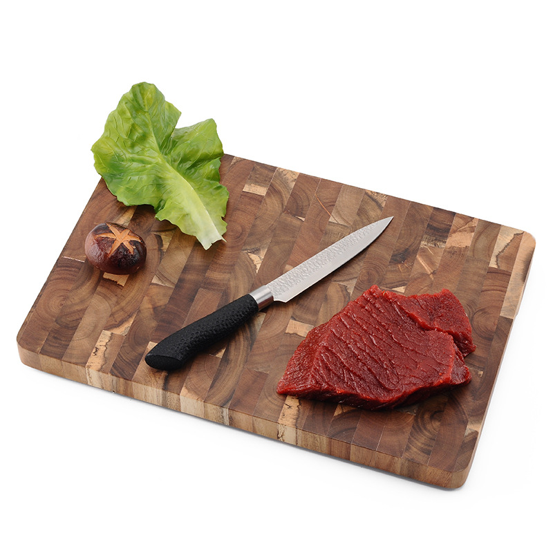 Premium Acacia Wood Cutting Board 14 x 9 x 1 inch with Hand Grips Solid Sturdy Chopping Serving Tray Platter Perfect Gift